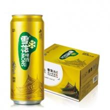雪花啤酒 纯生8度500ml*12听 纸箱装