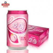 果啤330ml*24听水蜜桃口味 果酒