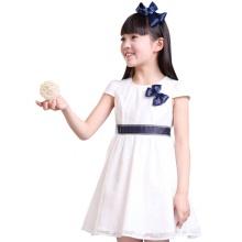 米妮哈鲁童装2015夏装新款女童韩版蕾丝连衣裙碎花公主裙