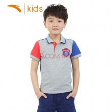 安踏品牌童装男童短袖POLO衫运动服