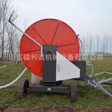 贝博app安卓移动喷灌机 卷盘式自走 抗旱 大田灌溉 大型浇地喷灌机