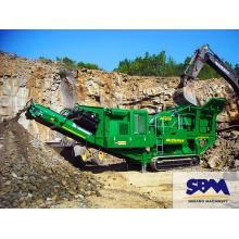 世邦矿山机械有限公司 煤矸石破碎粒径选择 混凝土生产设备