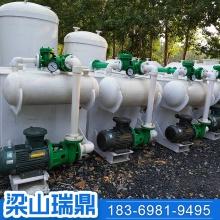 聚丙烯水喷射真空泵机组 PP板无缝焊接防腐真空泵 罗茨真空机组