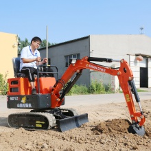 挖电缆沟的小型挖掘机 隧道施工微型挖掘机 小挖机