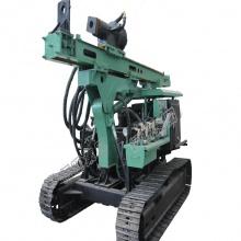 多功能山地打桩机液压振动锤打桩机履带全液压压桩机光伏打桩机