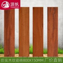 佛山瓷砖 800*150北欧仿木纹凹凸面防滑地板砖卧室客厅工程木纹砖